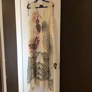 Anthropology- geisha design dress